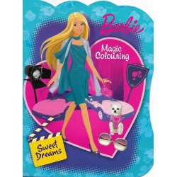 BARBIE MAGIC COLOURING