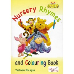 Nursery Rhymes and Colouring Book