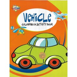 Vehicle Colouring & Activity Book