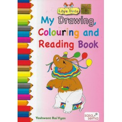 My Drawing Colouring and Reading Book
