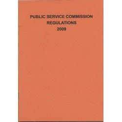 PUBLIC SERVICE COMMISSION REGULATIONS 2009