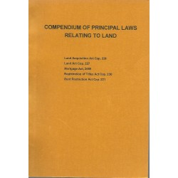 COMPEDIUM OF PRINCIPAL LAWS RELATING TO LAND