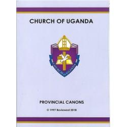 CHURCH OF UGANDA-PROVINCIAL CANONS