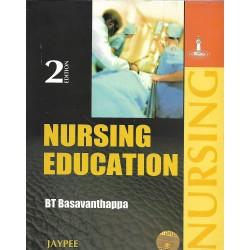 NURSING EDUCATION -BT Basavanthappa -JAYPEE