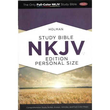 STUDY BIBLE NKJV -PERSONAL SIZE