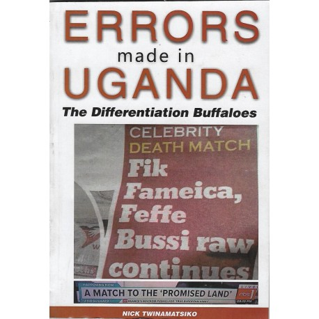 ERRORS made in UGANDA