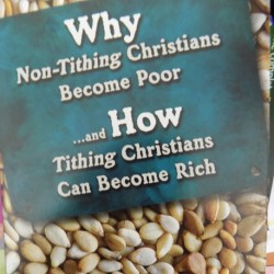 Why Non-Tithing Christians Become poor & why Tithing Christians become rich