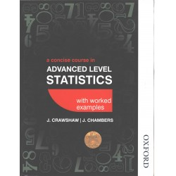 A concise approach to advanced level statistics