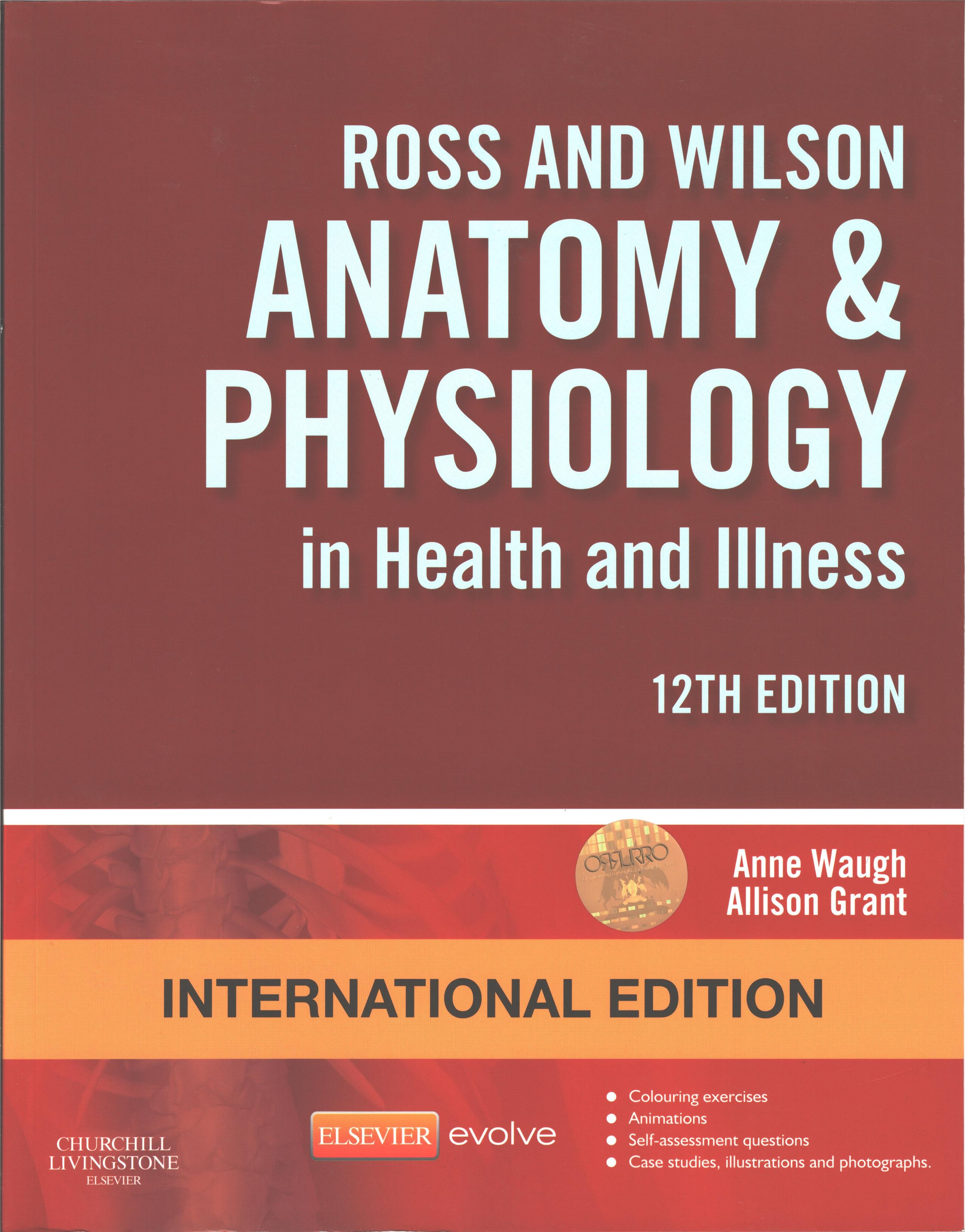 Ross & Wilson Anatomy and Physiology in Heath and illness - Uganda ...