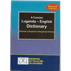 A concise Luganda - English Dictionary