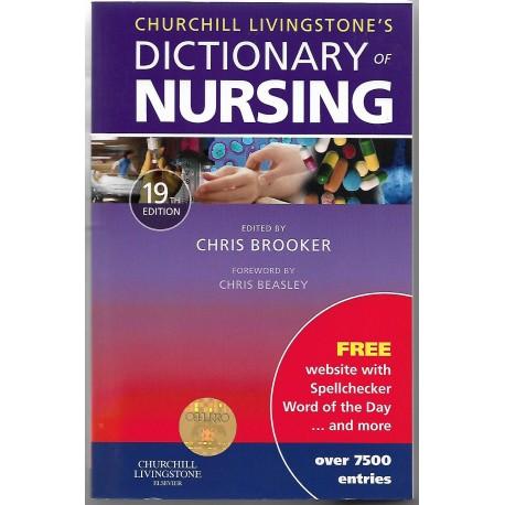Churchhill Livingstone Dictionary of Nursing