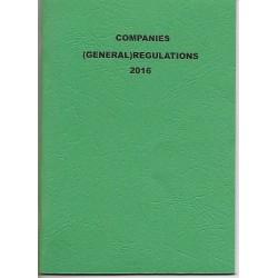 Companies  (General ) Regulatiions 2016
