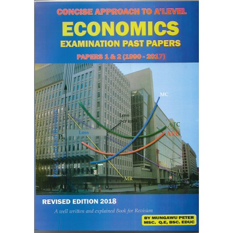 Concise Approach to 'A' level Economics Examination past papers - Uganda  Bookshop