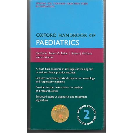 Oxford handbook of Paediatrics