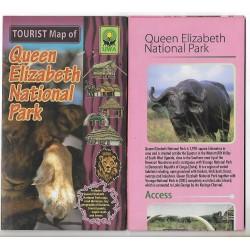Tourist Map of Queen Elizabeth National Park