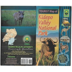 Tourist Map of Kidepo Valley National Park