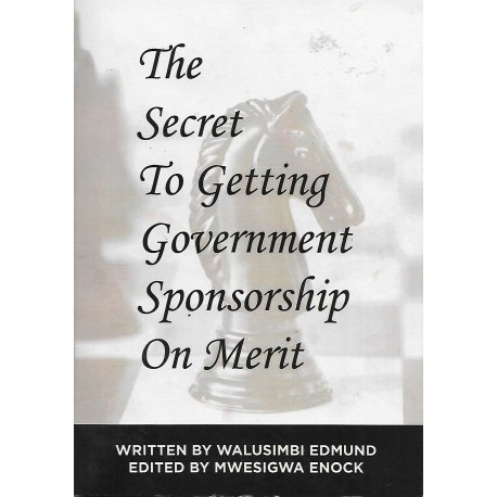 The Secret To Getting Government Sponsorship On Merit